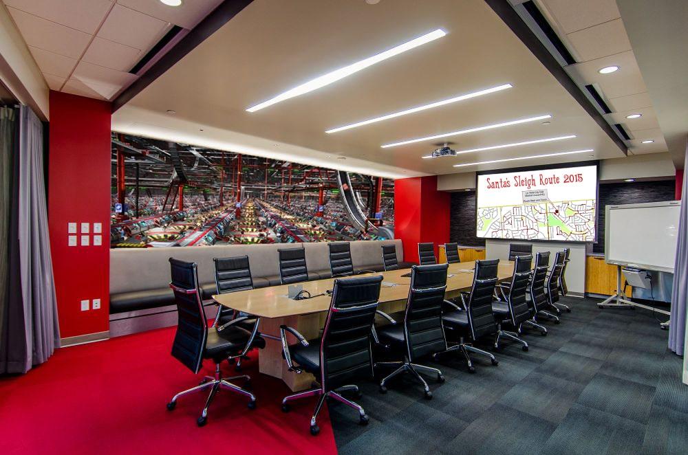 CCS recently completes Santa\'s Executive Conference Room - CCS ...